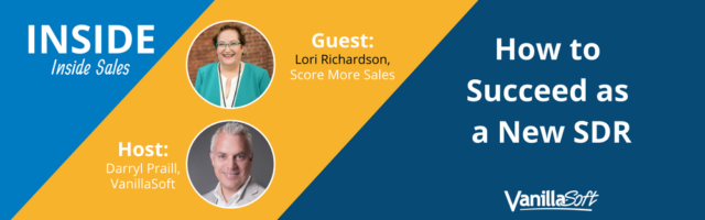 Image for INSIDE Inside Sales – Episode One: How to Succeed as a New SDR
